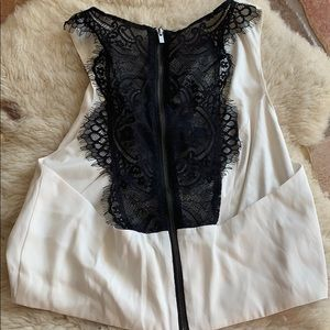 Express Lace Blouse Tank